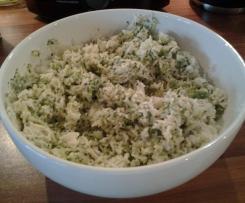 All-in-one Broccoli-Frischkäse-Reis