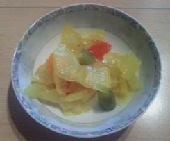 Schmorgurken pikant eingekocht