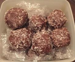 Energy Balls nach Ella Woodward,glutenfrei, zuckerfrei und vegan möglich