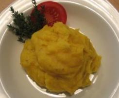 Kürbis-Kartoffelpüree