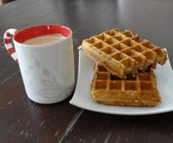 Frühstücks Waffeln ohne Zucker