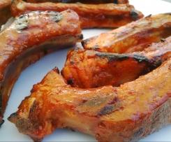 Spare-Ribs Süß-Sauer - Asia Meets BBQ