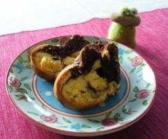 Variation von Marmorkuchen mit Sonnenblumenöl
