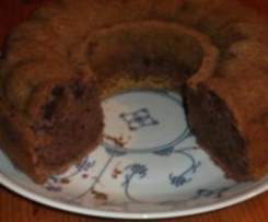 Schoko-Kirschkuchen mit Rotwein