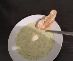 Brokkolicreme-Suppe