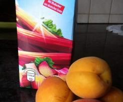 APRHAB-Marmelade (Aprikosen u Rhabarbersaft )