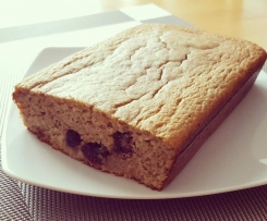 Variation von Bananen Protein Kuchen (Low Fat, Low Carb, Fitness,)