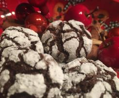 American Chocolate Crinkle Cookies