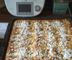 Apfelkuchen vom Blech - hochfein!