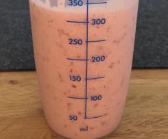 Super schneller und Zuckerfreier Frühstücks-Smoothie