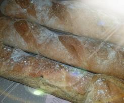 Baguettes Aschenputtel ohne Weizen
