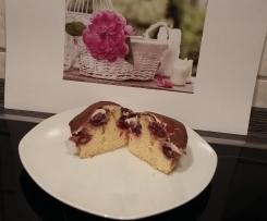 Donauwellen Cupcakes Valentinesdaycupcakes von Mixgenuss
