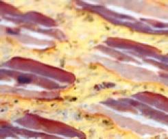 Kürbisfladen / Kürbisquiche / Herzhafter Kürbiskuchen