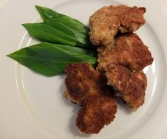 Bärlauch-Knusper-Nuggets - mit raffinierter Panade