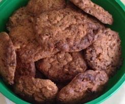 American Cookies mit Schokostückchen