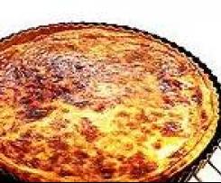 Tarte au fromage - Käsekuchen