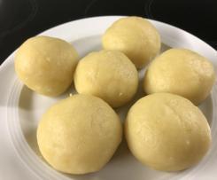 Variation Kartoffelklöße