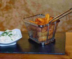 Sauerrahm-Dip für würzige Kartoffelspalten