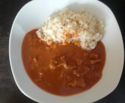 Pork Madras (hot!!)
