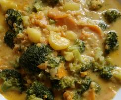 Brokkoli-Kartoffel-Curry