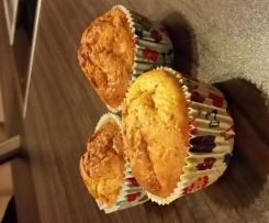 Möhren Zucchini Muffins