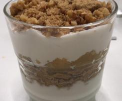 Apfel-Spekulatius-Dessert