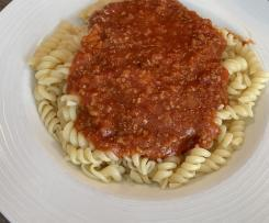 Nudeln Bolognese