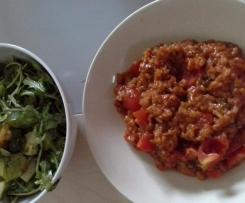 Variation von Tomaten Risotto á la ww