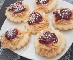 Spaghettieis-Kekse