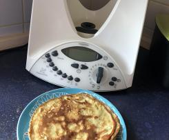 Schneller Pfannkuchenteig mit Hafermilch