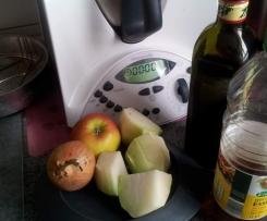 Kohlrabi - Apfel Salat