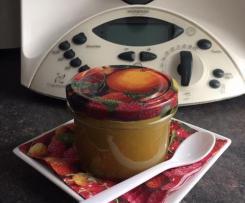 Rhabarber-Mango-Marmelade mit Schuss