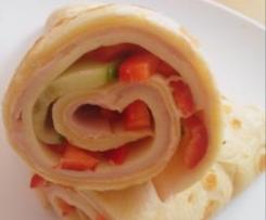 Pfannkuchen - Wraps
