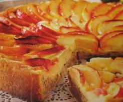 Apfel-Mohnkuchen mit Schmandguss