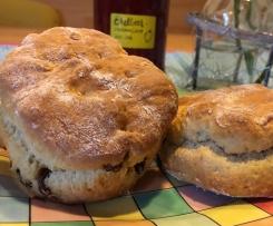 Britische Scones (rich scones nach Be-Ro)