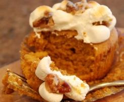 Suesskartoffel Cupcakes