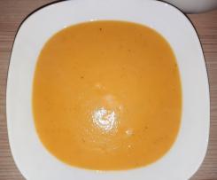 Einfache Kartoffel-Gemüse-Suppe (Resteverwertung)