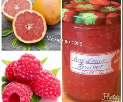 Grapefruit - Himbeer - Marmelade