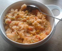 Buntes Gemüse-Risotto