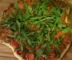 Tomatenkuchen mit Rucola (WW)
