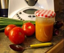 BBQ - Sauce zu Fleisch, warm oder kalt