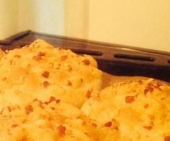 Käsebrötchen / Käse-Schinkenbrötchen