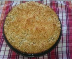 Birnen-Streuselkuchen