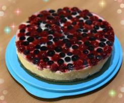 Beeren Torte ohne backen