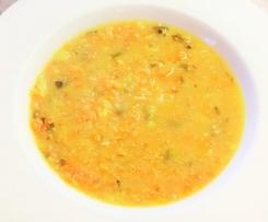 Möhren-Zucchini-Suppe WW-geeignet