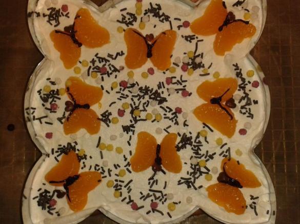 Mandarinen Schmand Sahne Kuchen Von Lelchen Ein Thermomix Rezept