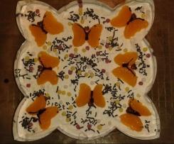 Mandarinen-Schmand-Sahne-Kuchen