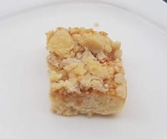 Apfel Streusel Kuchen Quark-Öl Teig