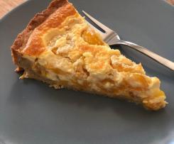 Mirabellen-Kuchen mit Sahne-Schmand-Guss