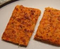 Pizza ohne Boden
